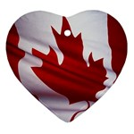 canadian-flag Ornament (Heart)