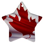 canadian-flag Ornament (Star)