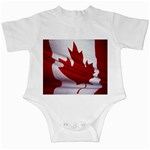 canadian-flag Infant Creeper