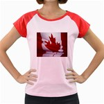 canadian-flag Women s Cap Sleeve T-Shirt