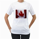 canadian-flag Women s T-Shirt