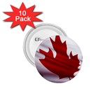 canadian-flag 1.75  Button (10 pack)