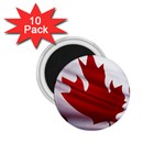 canadian-flag 1.75  Magnet (10 pack)