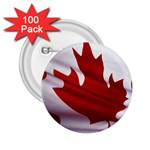 canadian-flag 2.25  Button (100 pack)