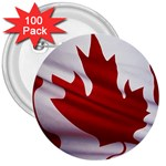 canadian-flag 3  Button (100 pack)