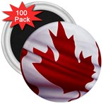 canadian-flag 3  Magnet (100 pack)