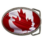 canadian-flag Belt Buckle