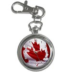 canadian-flag Key Chain Watch