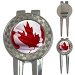 canadian-flag 3-in-1 Golf Divot