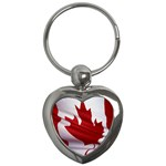 canadian-flag Key Chain (Heart)