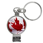 canadian-flag Nail Clippers Key Chain