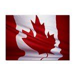 canadian-flag Sticker (A4)