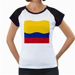 Flag_of_Colombia Women s Cap Sleeve T