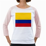 Flag_of_Colombia Girly Raglan