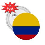 Flag_of_Colombia 2.25  Button (10 pack)