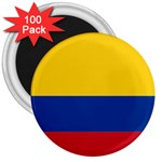 Flag_of_Colombia 3  Magnet (100 pack)