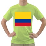 Flag_of_Colombia Green T-Shirt