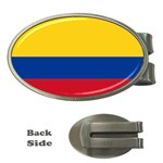 Flag_of_Colombia Money Clip (Oval)