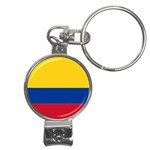 Flag_of_Colombia Nail Clippers Key Chain