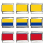 Flag_of_Colombia 9mm Italian Charm (9 pack)