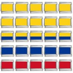 Flag_of_Colombia 9mm Italian Charm (25 pack)