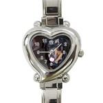 Brookie s watch - Heart Italian Charm Watch