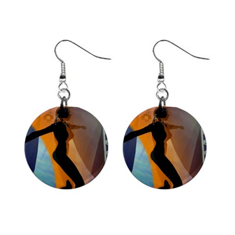 Come Dance Earrings By Outlandish And More   1  Button Earrings   K9fgjr2pa90t   Www Artscow Com Front