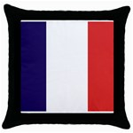FR Throw Pillow Case (Black)