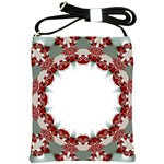 Red Twista Art Shoulder Sling Bag