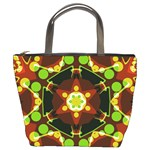 Sortiaria Geo Dots Art Bucket Bag