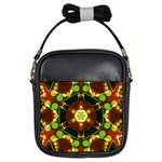 Sortiaria Geo Dots Art Girls Sling Bag