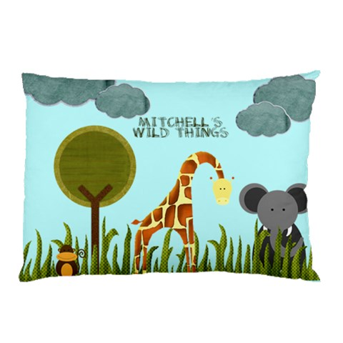 Animalpillowcase By Mary   Pillow Case   Mguoblw5e9t1   Www Artscow Com 26.62 x18.9 Pillow Case
