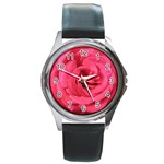 Rose-slideshow-112x131 Round Metal Watch