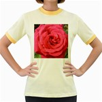 Rose-slideshow-112x131 Women s Fitted Ringer T-Shirt