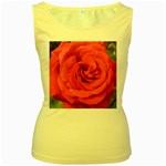 Rose-slideshow-112x131 Women s Yellow Tank Top