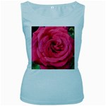 Rose-slideshow-112x131 Women s Baby Blue Tank Top