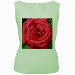 Rose-slideshow-112x131 Women s Green Tank Top
