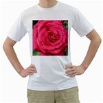 Rose-slideshow-112x131 White T-Shirt