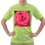 Rose-slideshow-112x131 Green T-Shirt