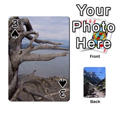 Out West Cards By Terri   Playing Cards 54 Designs   Vrzd1uzgkdos   Www Artscow Com Front - Spade3