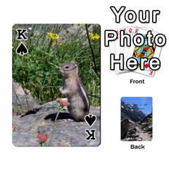 King Out West Cards By Terri   Playing Cards 54 Designs   Vrzd1uzgkdos   Www Artscow Com Front - SpadeK