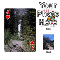 Out West Cards By Terri   Playing Cards 54 Designs   Vrzd1uzgkdos   Www Artscow Com Front - Heart4