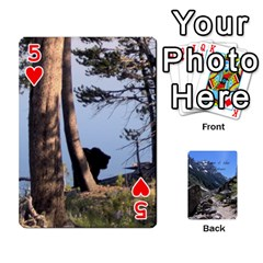 Out West Cards By Terri   Playing Cards 54 Designs   Vrzd1uzgkdos   Www Artscow Com Front - Heart5