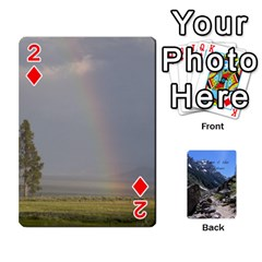 Out West Cards By Terri   Playing Cards 54 Designs   Vrzd1uzgkdos   Www Artscow Com Front - Diamond2