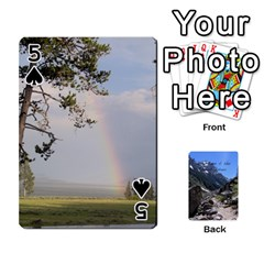 Out West Cards By Terri   Playing Cards 54 Designs   Vrzd1uzgkdos   Www Artscow Com Front - Spade5
