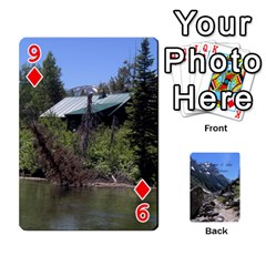 Out West Cards By Terri   Playing Cards 54 Designs   Vrzd1uzgkdos   Www Artscow Com Front - Diamond9