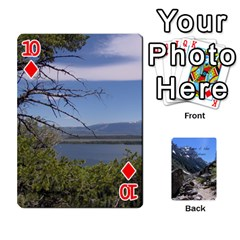 Out West Cards By Terri   Playing Cards 54 Designs   Vrzd1uzgkdos   Www Artscow Com Front - Diamond10