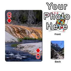 Queen Out West Cards By Terri   Playing Cards 54 Designs   Vrzd1uzgkdos   Www Artscow Com Front - DiamondQ
