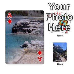 Ace Out West Cards By Terri   Playing Cards 54 Designs   Vrzd1uzgkdos   Www Artscow Com Front - DiamondA