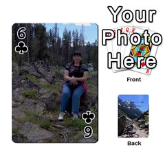 Out West Cards By Terri   Playing Cards 54 Designs   Vrzd1uzgkdos   Www Artscow Com Front - Club6